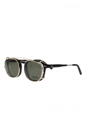'cliptosh' clip-on sunglasses od Moscot