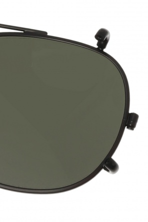 Clip-on sunglasses od Moscot