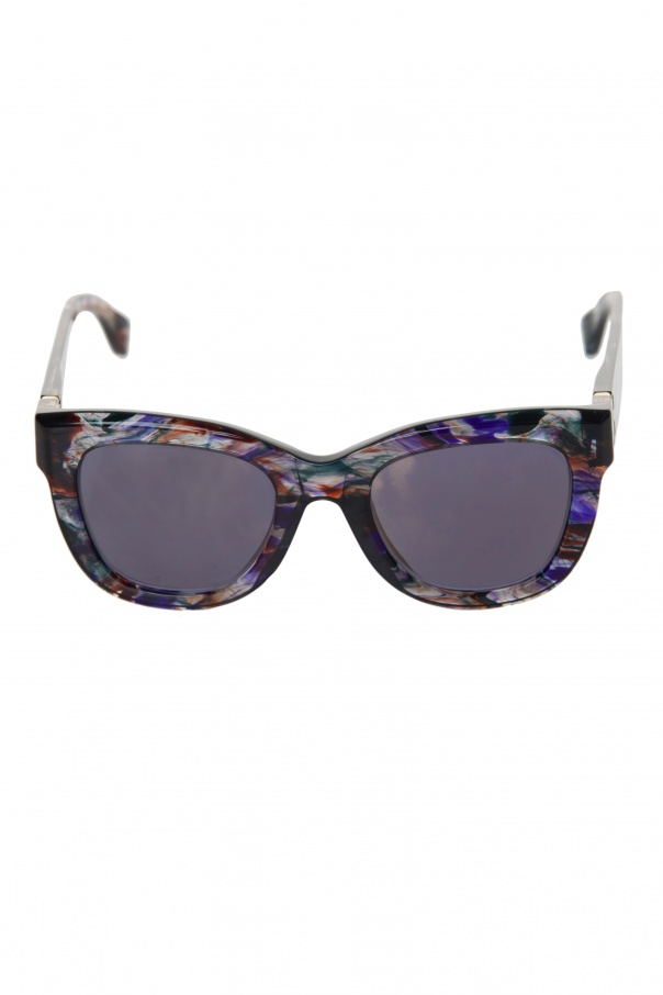Mykita Colorful Shaded Frame Sunglasses