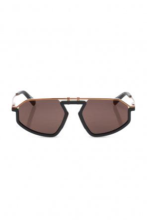 Logo-embossed sunglasses od Diesel