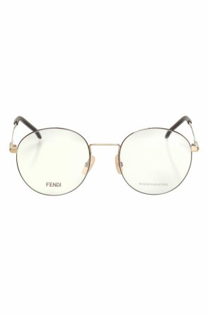 Optical glasses with logo od Fendi