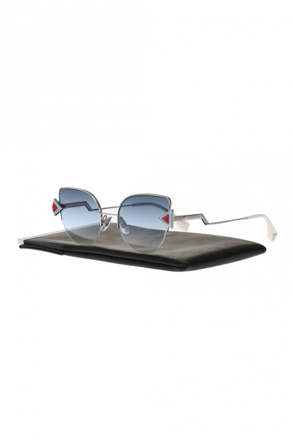 'rainbow' sunglasses od Fendi
