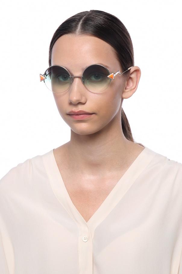 'rainbow' sunglasses od Fendi