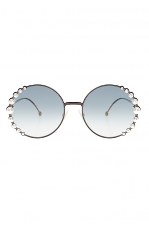 'ribbons and pearls' sunglasses od Fendi