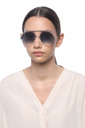 'ribbons & crystals' sunglasses od Fendi