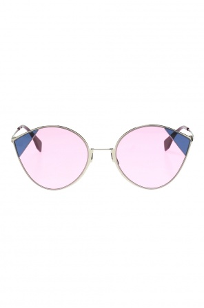 'cut-eye' sunglasses od Fendi