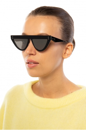 'defender' sunglasses with logo od Fendi