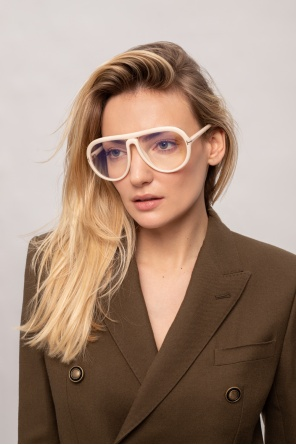 'cybil' optical glasses with logo od Tom Ford