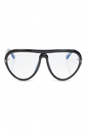 Optical glasses with logo od Tom Ford