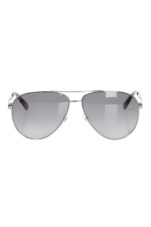 Aviator sunglasses od Gucci