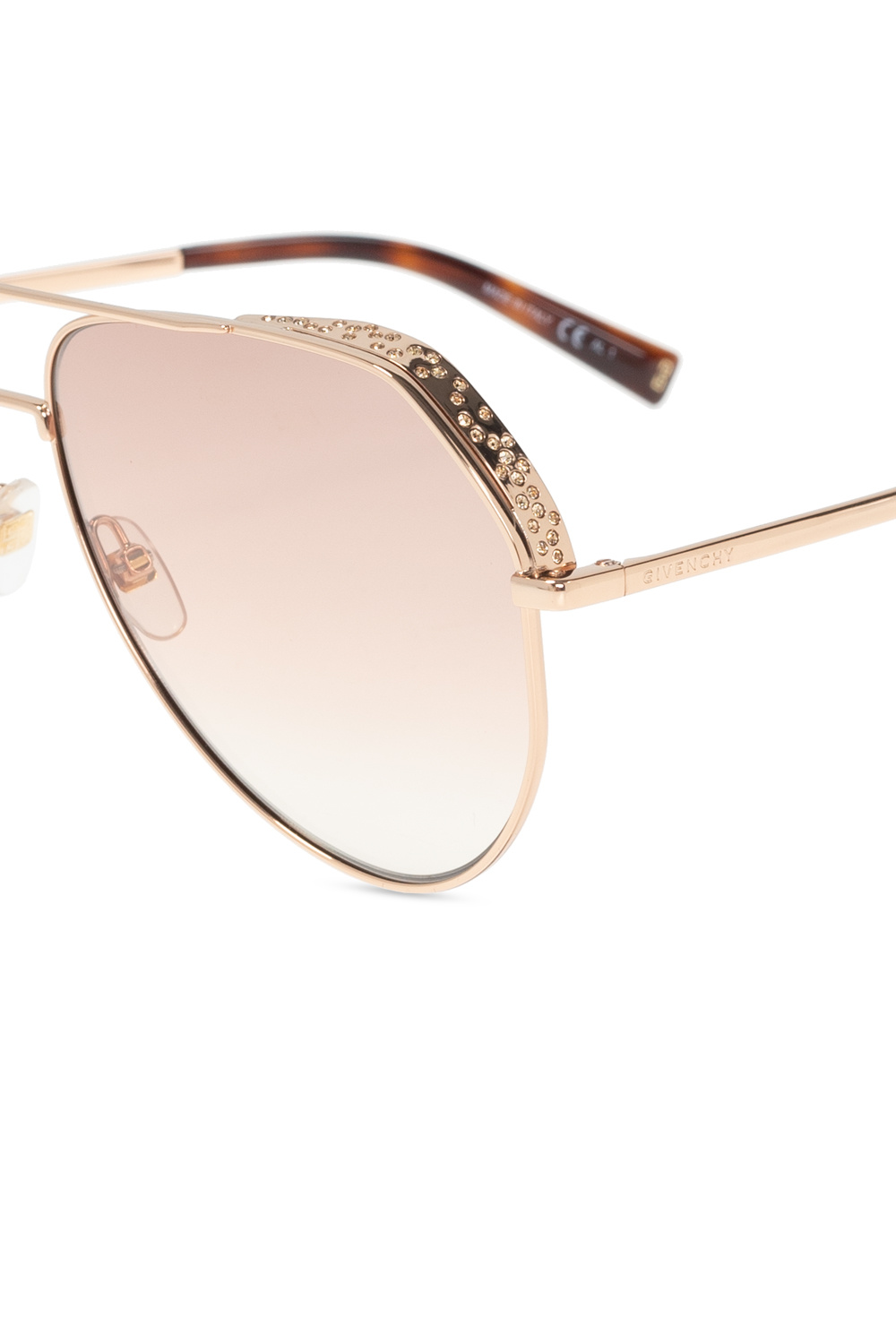 Givenchy Crystal-encrusted sunglasses