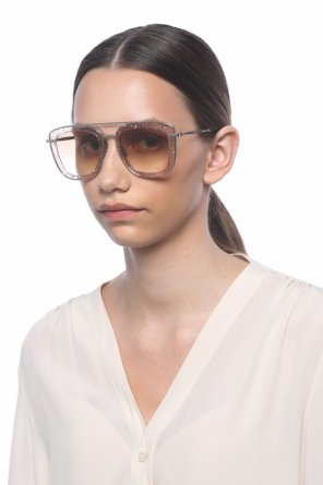 'glossy' sunglasses od Jimmy Choo