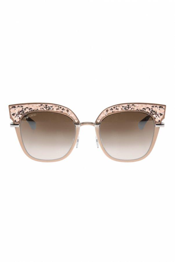 Okulary przeciwsłoneczne 'rosy' od Jimmy Choo