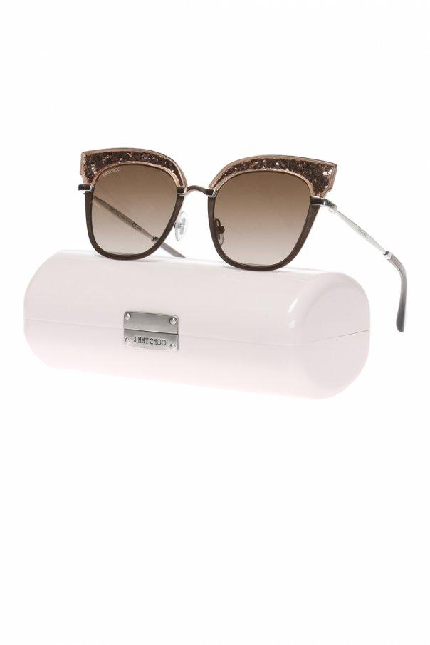 'rosy' sunglasses od Jimmy Choo