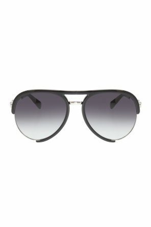 Sunglasses with a decorative logo od Moschino