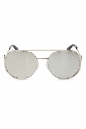 Okulary przeciwsłoneczne z logo od Moschino