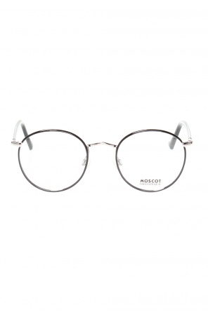 'zev' eyeglasses with logo od Moscot