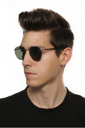 'zev' sunglasses with logo od Moscot