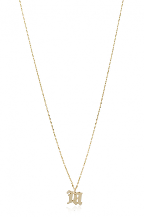 MISBHV 'The M' necklace