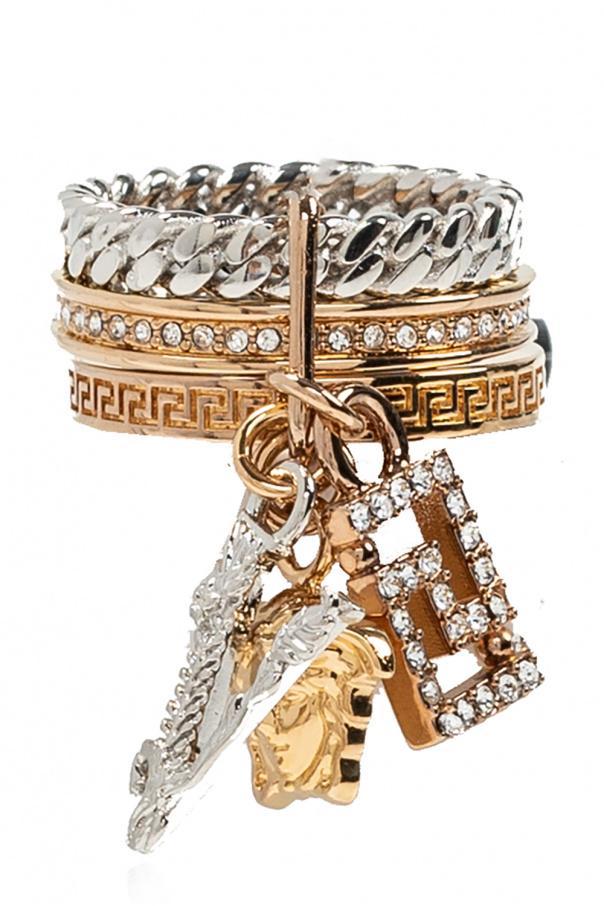 Versace Crystal ring