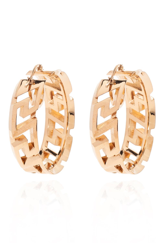 Versace Earrings with logo