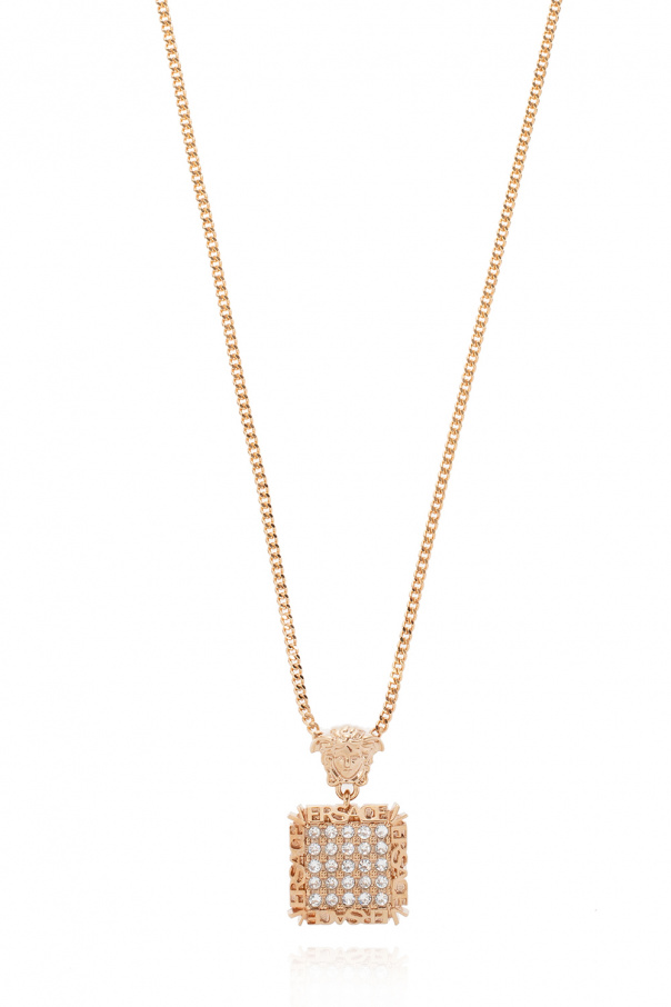 Versace Necklace with charm