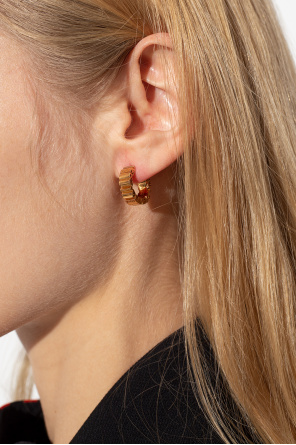 Earrings with logo od Versace