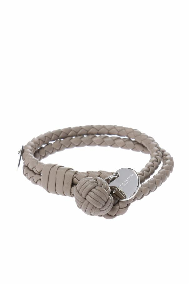 Intrecciato Double Wrap Bracelet Bottega Veneta Vitkac Shop Online