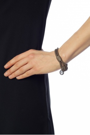 Braided bracelet with charm od Bottega Veneta