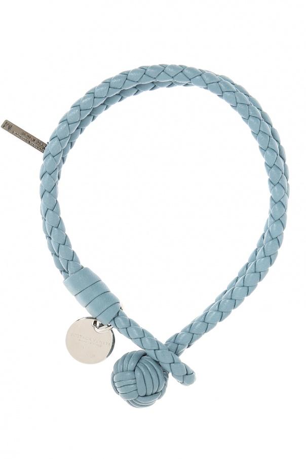 Braided Leather Bracelet Bottega Veneta Vitkac Shop Online