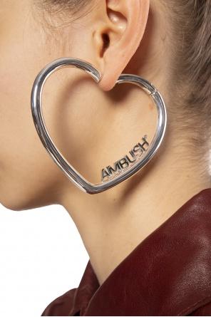 Logo earrings od Ambush
