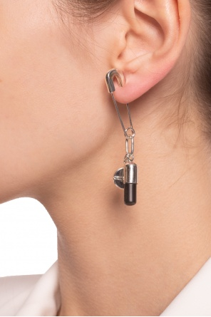 Earrings with logo pendant od Ambush