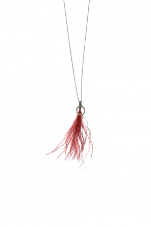 Ostrich feather necklace od Ann Demeulemeester
