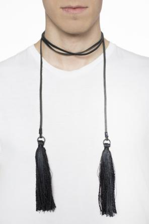 Fringed necklace od Ann Demeulemeester
