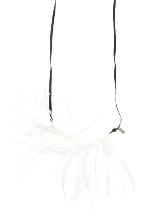 Ostrich feathers necklace od Ann Demeulemeester