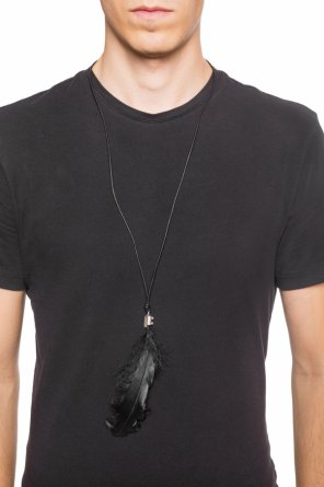 Goose feather necklace od Ann Demeulemeester