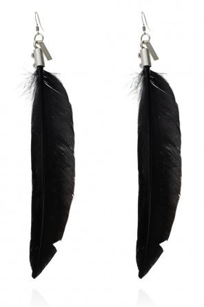 Feather earring od Ann Demeulemeester
