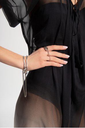 Ring with chain od Ann Demeulemeester
