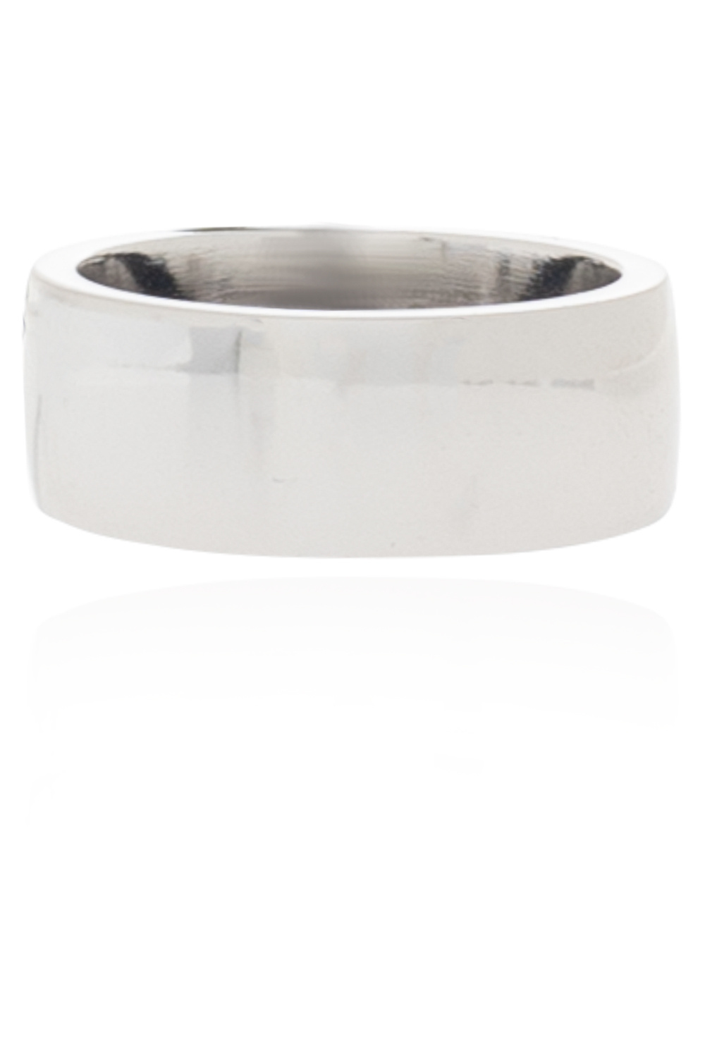 Raf Simons Brass ring with charm