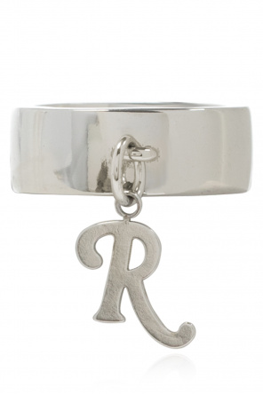 Logo ring od Raf Simons