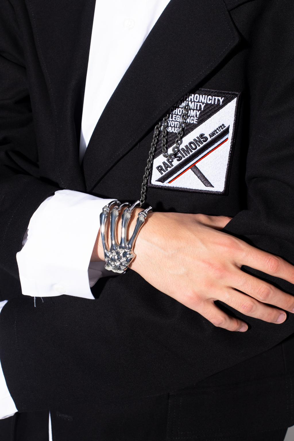 Raf Simons Bracelet with logo
