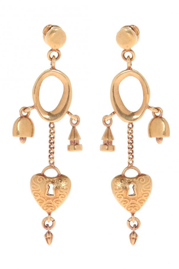 'collected hearts' earrings od Chloe