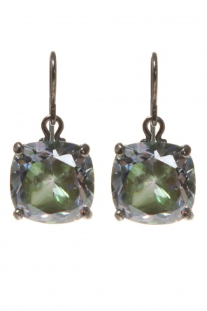 Cubic zirconia earrings od Bottega Veneta