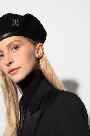 Earrings with logo od MISBHV