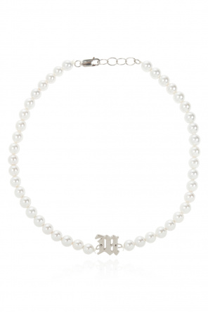 Shell-pearls necklace od MISBHV