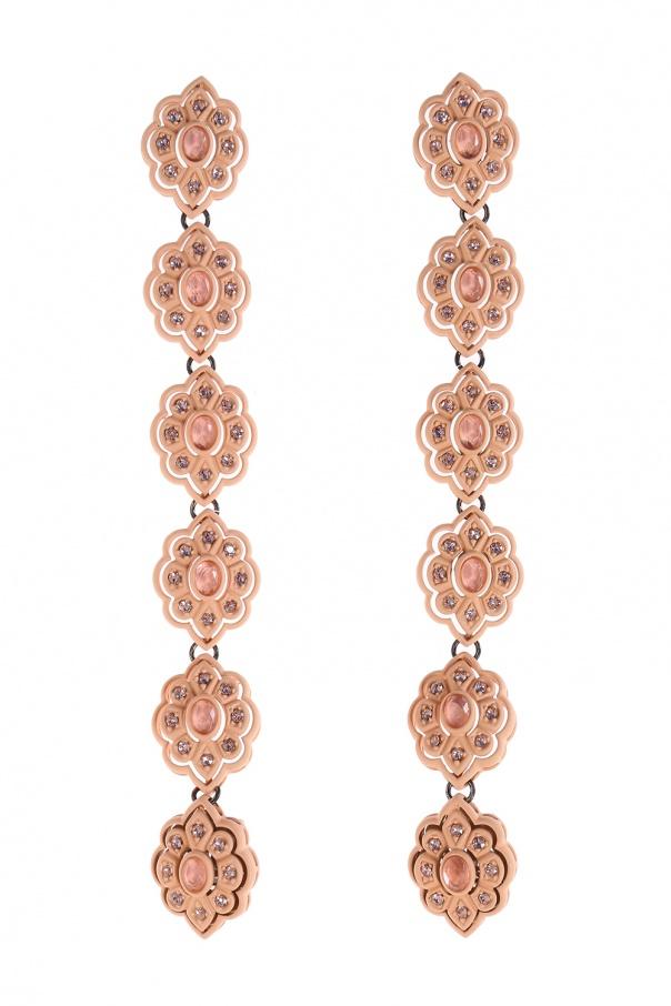 3f2ffa90923 Flower-shaped clip-on earrings Gucci - Vitkac shop online