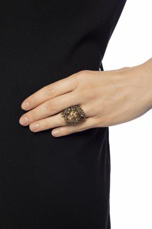 45b1c86cf Women's rings, silver, pearl, two-finger – Vitkac shop online