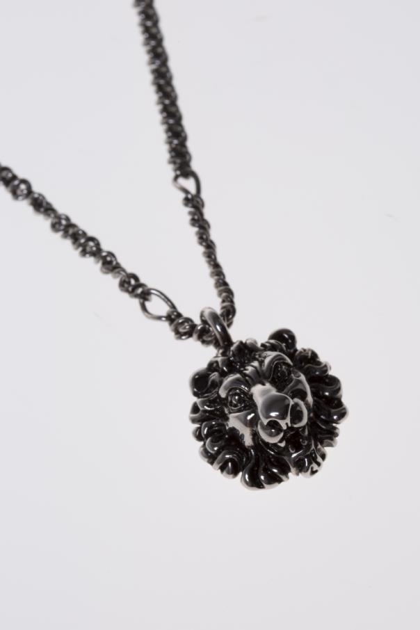 3424ee739 Lion Head-Shaped Pendant Necklace Gucci - Vitkac shop online