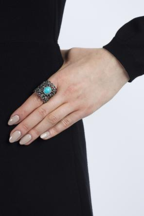 Resin detail ring od Gucci