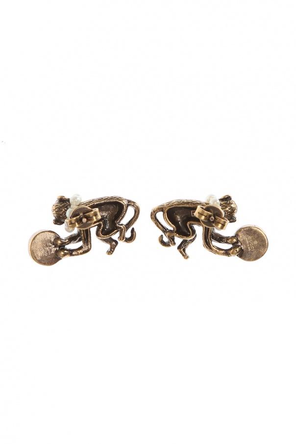 d7420408f2b Monkey Earrings Gucci - Vitkac shop online